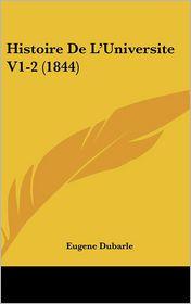 Histoire de L'Universite V1-2 (1844)