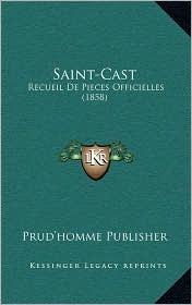 Saint-Cast: Recueil de Pieces Officielles (1858)