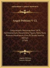 Angeli Politiani V CL - Angelo Poliziano