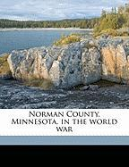 Norman County, Minnesota, in the World War