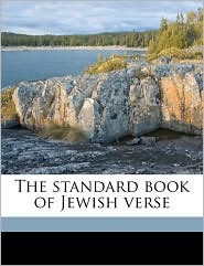 The Standard Book of Jewish Verse