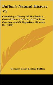 Buffon's Natural History V5 - Georges-Louis Leclerc de Buffon