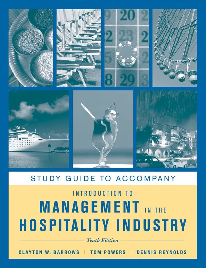 Introduction to Management in the Hospitality Industry - Clayton W. Barrows