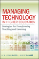 Managing Technology in Higher Education - A. W. (Tony) Bates; Albert Sangra