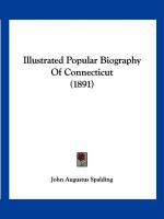 Illustrated Popular Biography of Connecticut (1891)