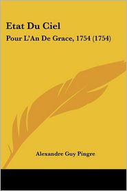 Etat Du Ciel - Alexandre Guy Pingre