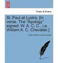 St. Paul at Lystra. [In Verse. the
