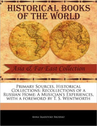 Primary Sources, Historical Collections - Anna Skadovsky Brodsky
