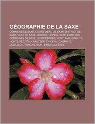G Ographie de La Saxe