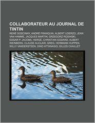 Collaborateur Au Journal de Tintin
