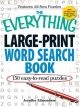 Everything Large-Print Word Search Book - Jennifer Edmondson