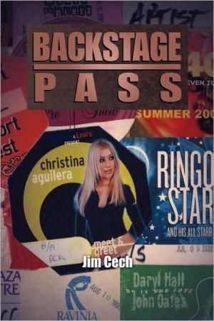 Backstage Pass - Jim Cech