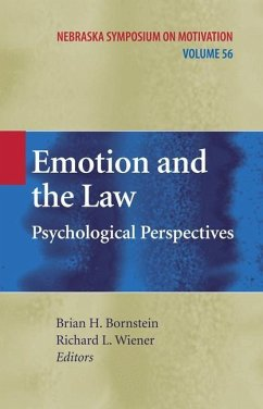Emotion and the Law - Herausgegeben von Bornstein, Brian H. Wiener, Richard L.