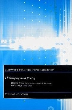 Philosophy and Poetry - Herausgeber: French, Peter A. Lepore, Ernie Wettstein, Howard K.