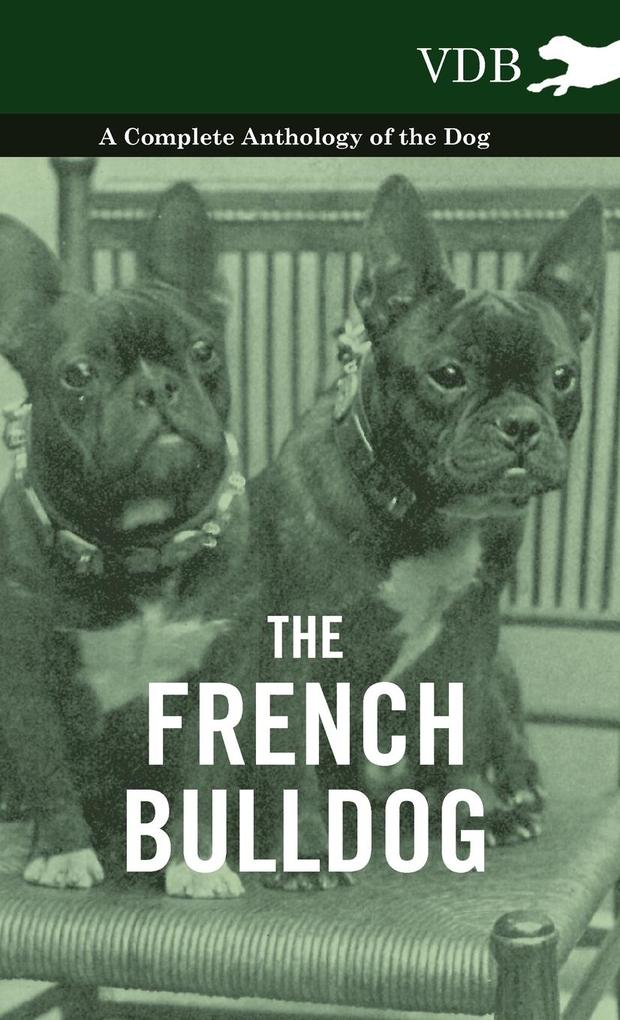The French Bulldog - A Complete Anthology of the Dog als Buch von Various - Vintage Dog Books