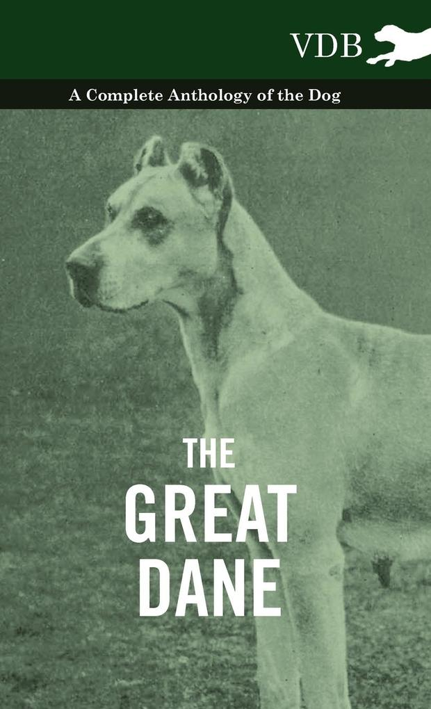 The Great Dane - A Complete Anthology of the Dog als Buch von Various - Vintage Dog Books