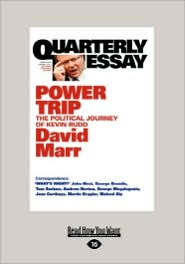 Quarterly Essay (Easyread Large Edition) - David Marr