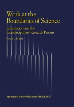 Work at the Boundaries of Science - Palmer, C. L.