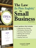 Law (In Plain English)Â for Small Business - Law, Leonard D. DuBoff Attorney at
