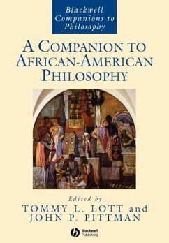 A Companion to African-American Philosophy - LOTT, L TOMMY L