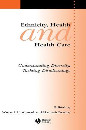 Ethnicity, Health and Health Care - Waqar Ahmad (Editor), Hannah Bradby (Editor)