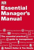 Essential Manager's Manual