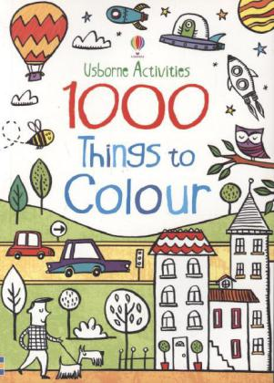 1000 Things: 1000 Things To Colour