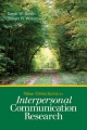 New Directions in Interpersonal Communication Research - Sandi W. Smith; Steven R. Wilson