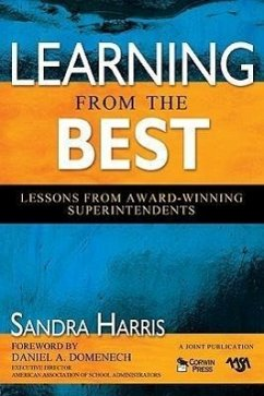 Learning from the Best: Lessons from Award-Winning Superintendents - Herausgeber: Harris, Sandra K.