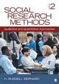 Social Research Methods (2nd, 12) by Bernard, H (Henry) Russell [Hardcover (2012)]