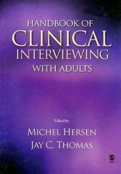 Handbook of Clinical Interviewing with Adults - Hersen, Michel Thomas, Jay C.
