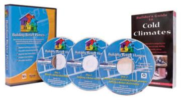Building Better Homes CD-ROM and Builder's Guide to Cold Climates Pkg