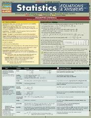 Statistics Equations & Answers - BarCharts Inc., Staff