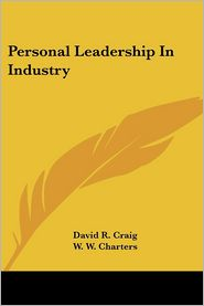 Personal Leadership in Industry