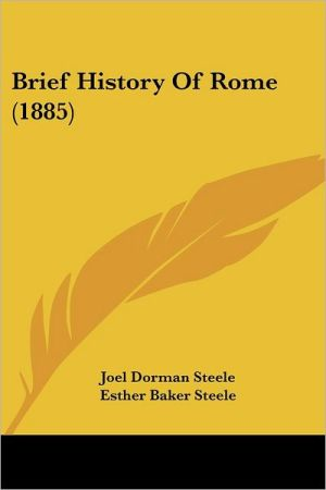 Brief History of Rome (1885)