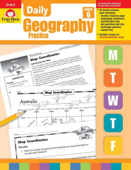 Daily Geography Practice, Grade 6 - Evan-Moor Educational Publishers