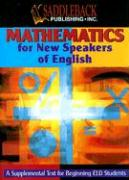 Mathematics for New Speakers of English