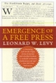 Emergence of a Free Press - Leonard W. Levy