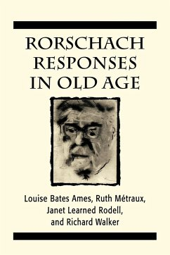 Rorschach Responses in Old Age (the Master Work Series) - Ames, Louise Bates