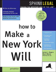 How to Make a New York Will - Mark Warda