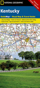 Kentucky Road Map and Travel Guide - National Geographic Maps
