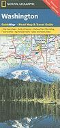 Washington state guide map ng r/v (r) wp (National Geographic GuideMaps)