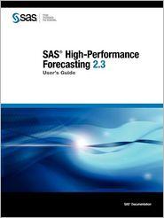 Sas High-Performance Forecasting 2.3 - Sas Publishing, Created by Publishing SAS Publishing