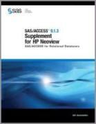 SAS/Access 9.1.3 Supplement for HP Neoview (SAS/Access for Relational Databases)