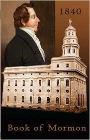 1840 Book Of Mormon - Joseph Smith