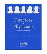 Directory of Physicians in the United States 4 Vol Set: Four Volume Set