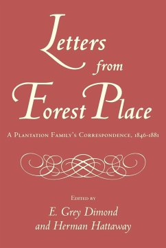 Letters from Forest Place - Herausgeber: Dimond, E. Grey Diamond, E. Grey Hattaway, Herman
