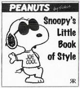 Snoopy's Little Book of Style