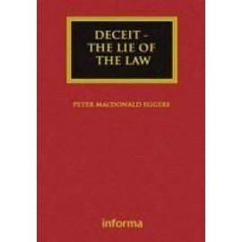 Deceit: The Lie of the Law - Peter Macdonald Eggers