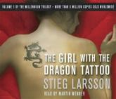 The Girl With the Dragon Tattoo - Stieg Larsson (author), Martin Wenner (read by)